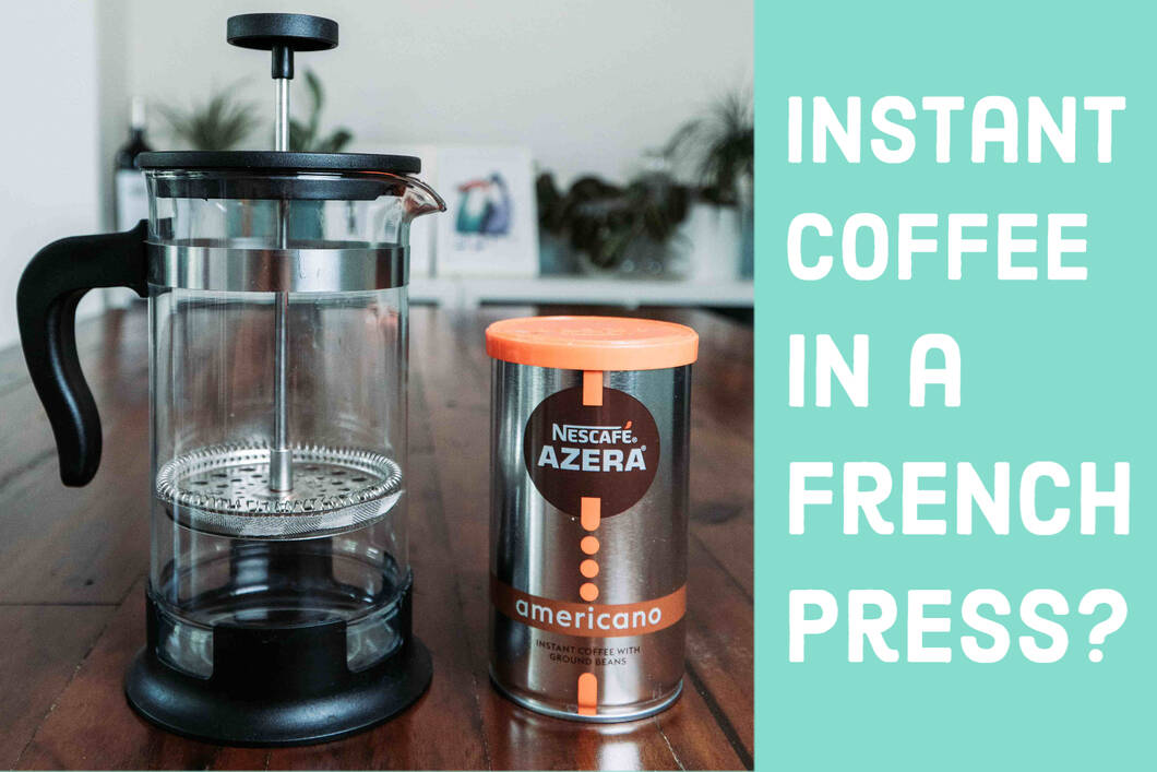 Can You Use Instant Coffee in a French Press