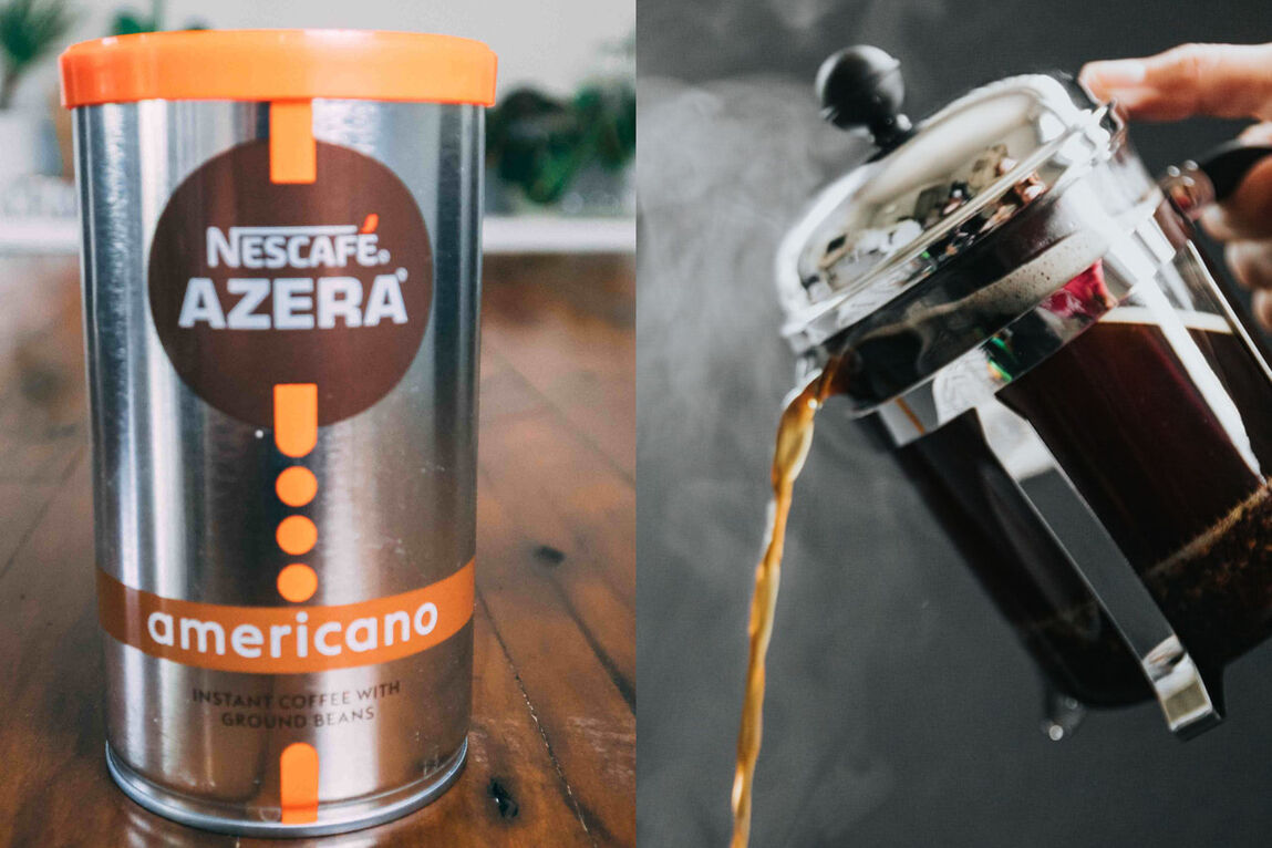 French Press vs. Instant Coffee