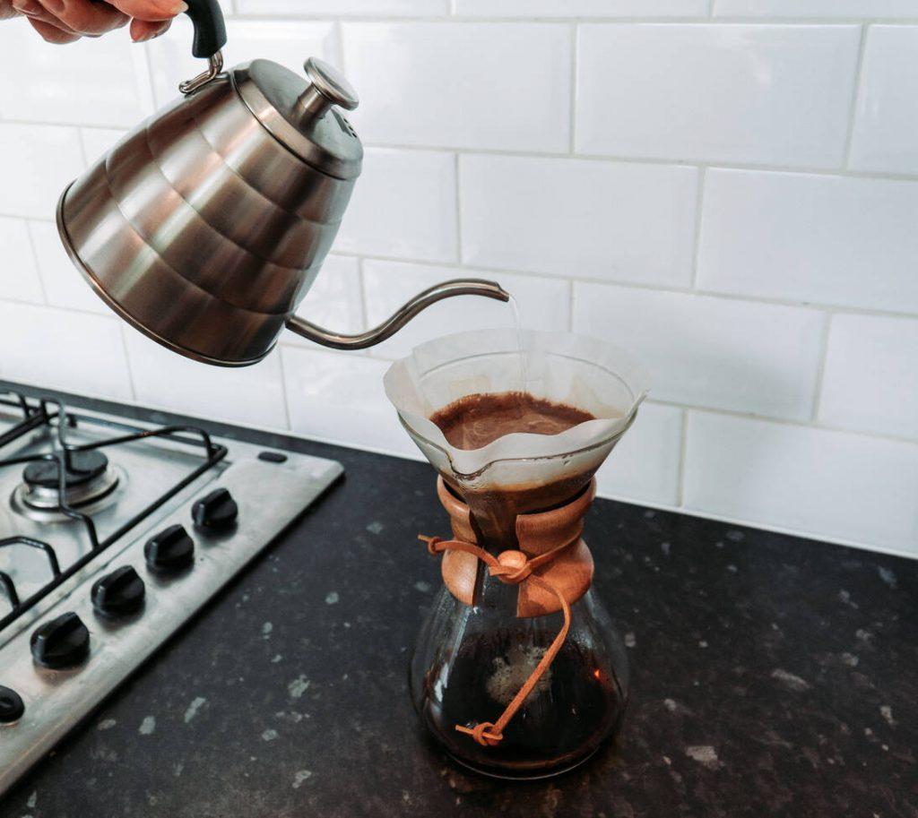 Brewing Coffee in a Chemex