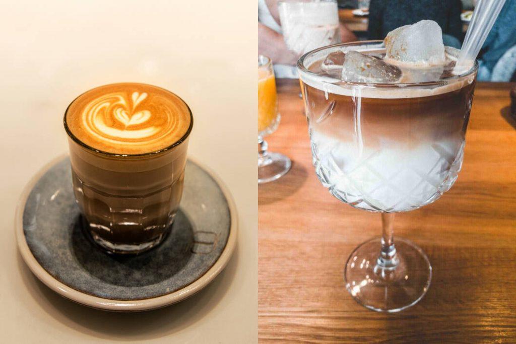 latte vs ice latte