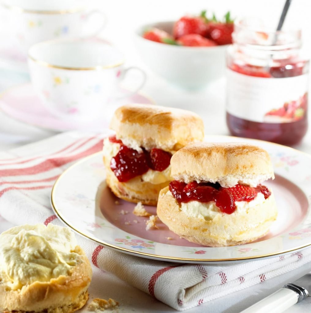 Scones-with-Jam-and-Cream