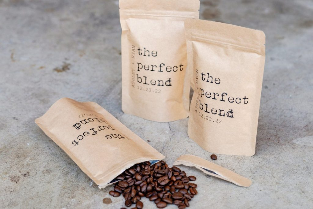 GiveItPretty Perfect Blend Coffee Favor Bag