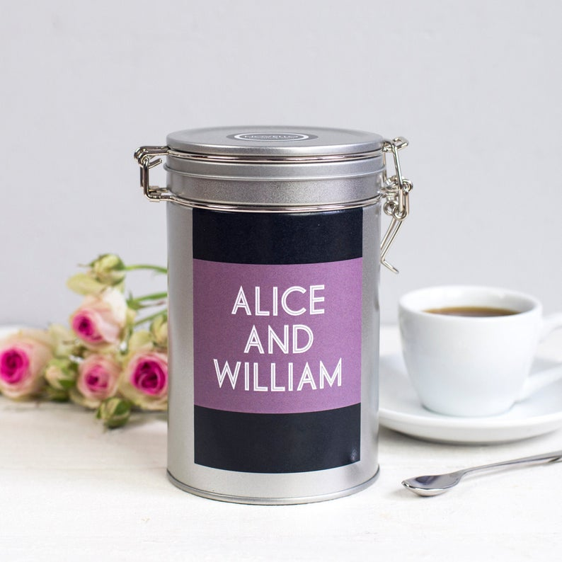 NovelloUK Couples Coffee Gift in Tin