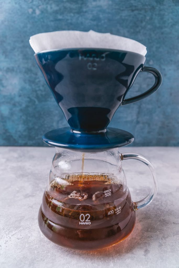 Brewing Japanese Cold Coffee