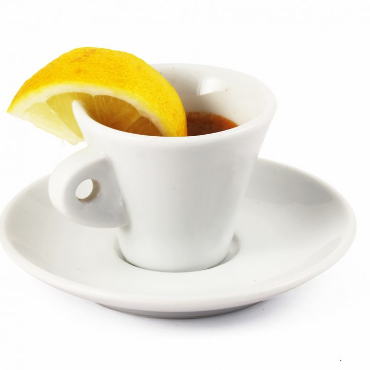 Espresso with Lemon
