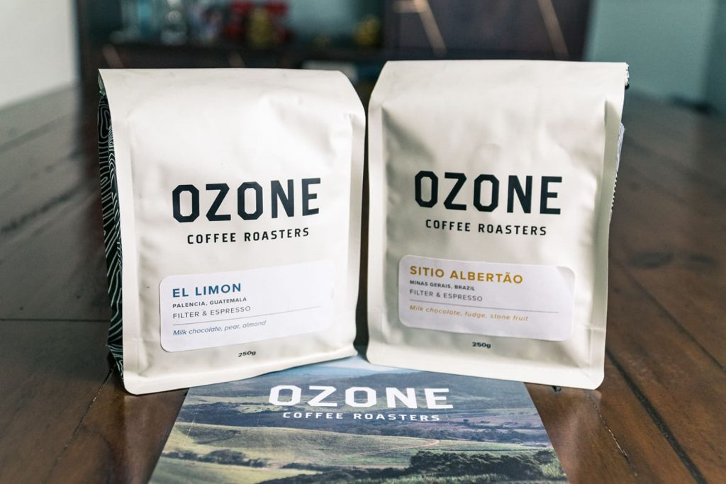 Two bags of Ozone Coffee, how many cups of coffee can you get out of these?