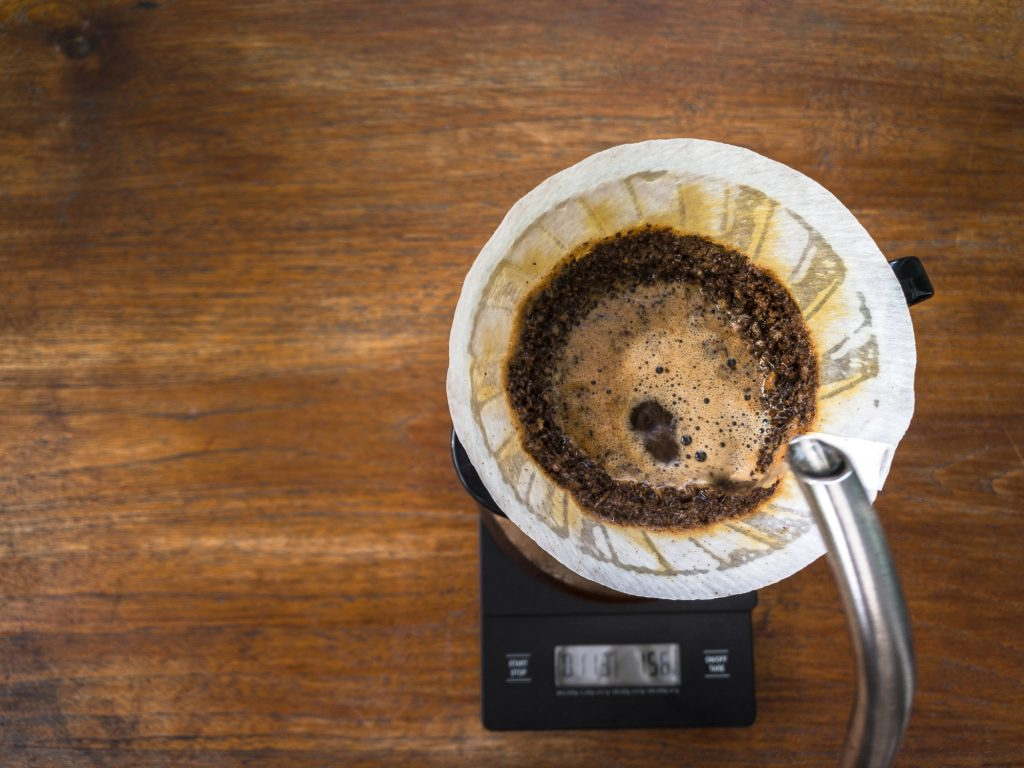 Brewing with a light coffee roast