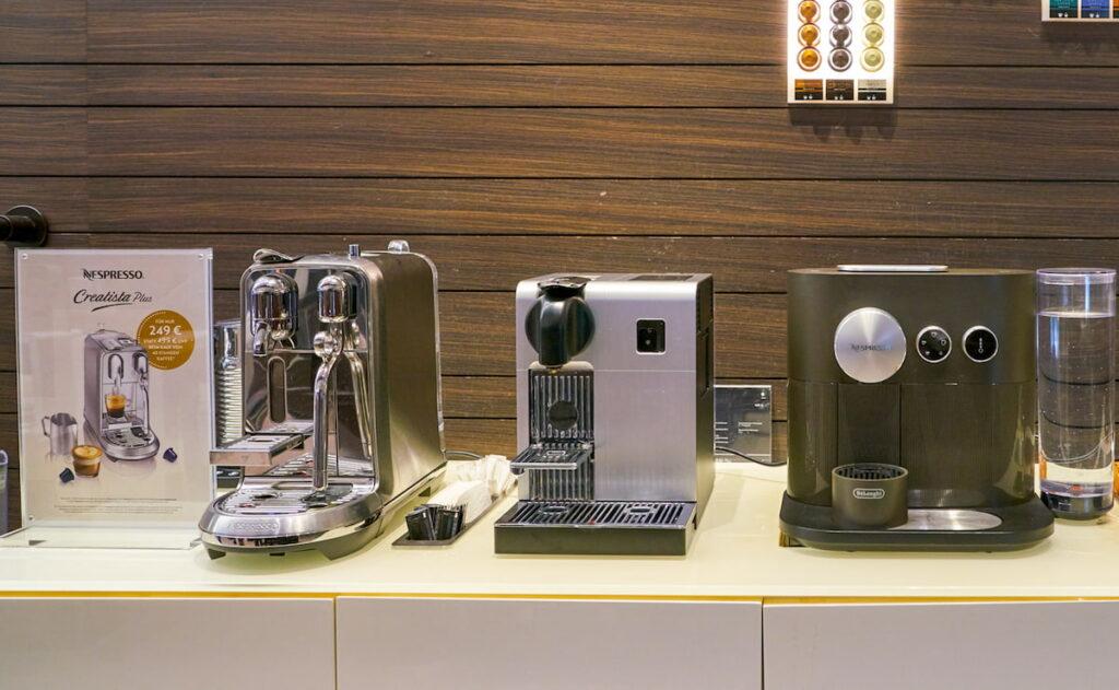 Creatista Plus with other Nespresso Machines