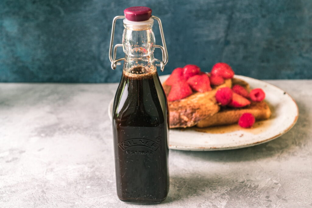 Homemade French Toast Syrup